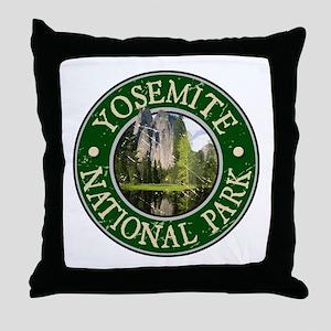 Yosemite Nat Park Design 2 Throw Pillow