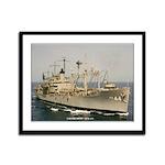 USS FREMONT Framed Panel Print