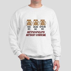 See No, Hear No, Speak No APS Sweatshirt