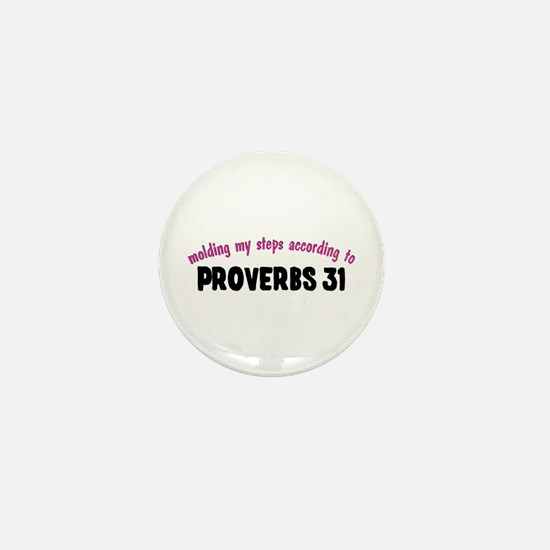 Molded by Proverbs 31 Mini Button