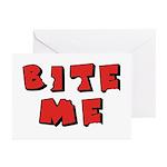 Bite Me! design Greeting Cards (Pk of 10)