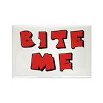 Bite Me! design Rectangle Magnet (10 pack)