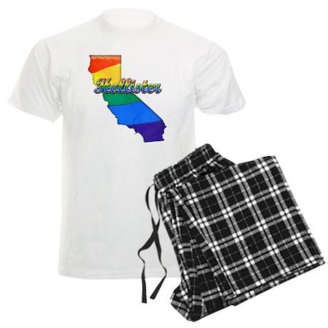 Hollister, California. Gay Pride Men's Light Pajam