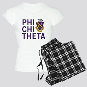 Phi Chi Theta Crest Women's Light Pajamas