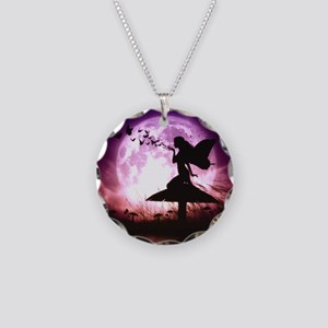 Butterfly Keeper Necklace Circle Charm