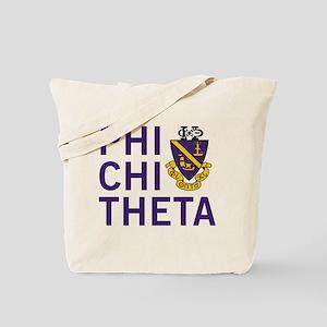 Phi Chi Theta Crest Tote Bag
