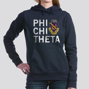 Phi Chi Theta Crest Women's Hooded Sweatshirt