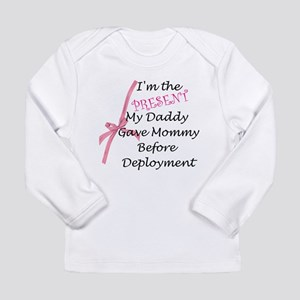 Present from daddy-Girl Long Sleeve Infant T-Shirt