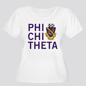 Phi Chi Theta Women's Plus Size Scoop Neck T-Shirt