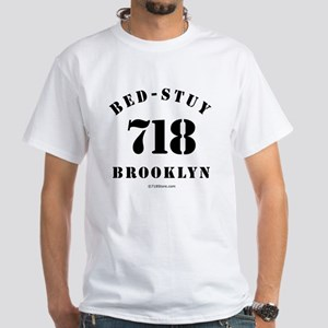 Bed-Stuy White T-Shirt