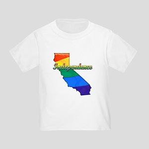 Independence, California. Gay Pride Toddler T-Shir
