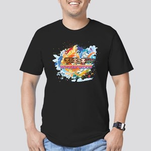Khandromas Men's Fitted T-Shirt (dark)