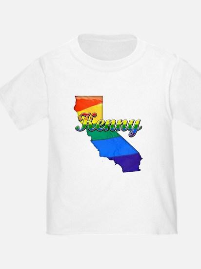 Kenny, California. Gay Pride T