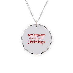 I love Trinity Necklace