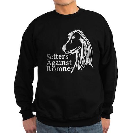 Setters Against Romney Sweatshirt (dark)