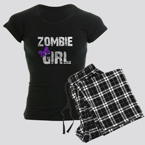 Zombie Girl Women's Dark Pajamas
