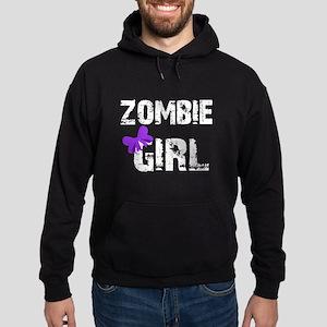 Zombie Girl Hoodie (dark)