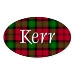 Tartan - Kerr Sticker (Oval 10 pk)