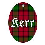 Tartan - Kerr Ornament (Oval)
