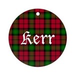 Tartan - Kerr Ornament (Round)