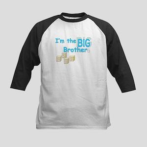 I'm the Big Bro Kids Baseball Jersey