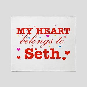 I love Seth Throw Blanket