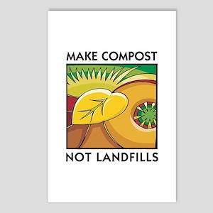 Make Compost, Not Landfills Postcards (Package of