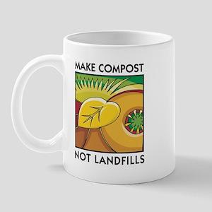 Make Compost, Not Landfills Mug