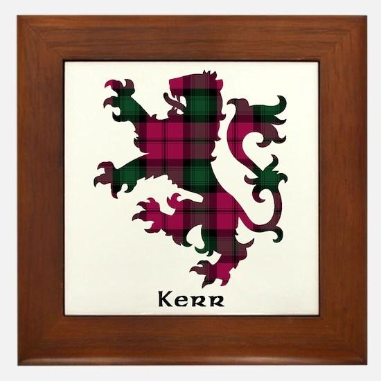 Lion - Kerr Framed Tile
