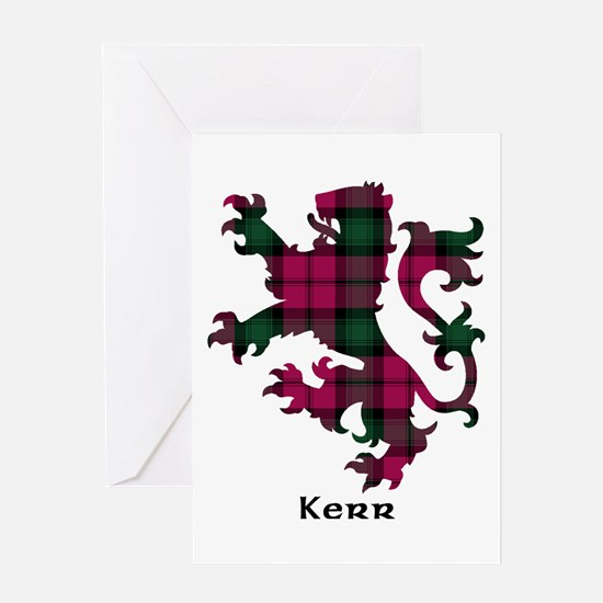 Lion - Kerr Greeting Card