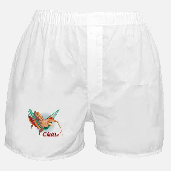 Bearded Dragon Chillin Boxer Shorts