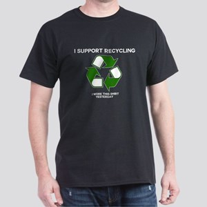 I support Recycling Dark T-Shirt