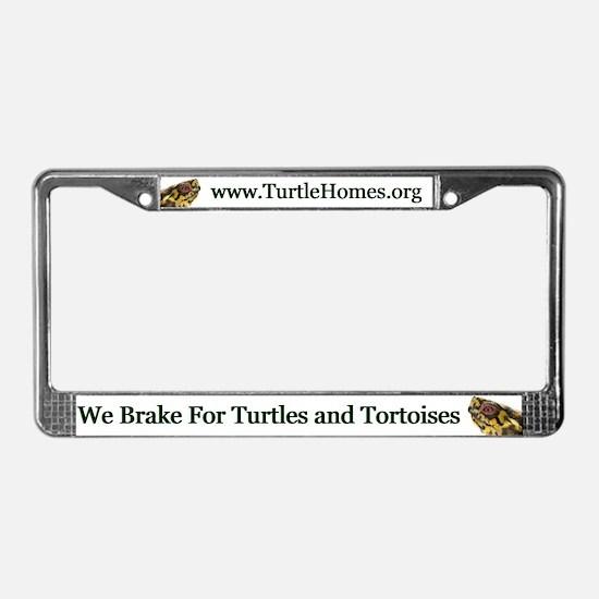 Eastern Box Turtle License Plate Frame