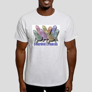 Bearded Dragon Colors Ash Grey T-Shirt