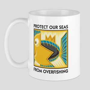 Protect Our Seas From Overfishing Mug