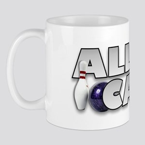 Alley Cat Bowling Mug