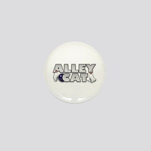 Alley Cat Bowling Mini Button