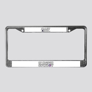 Alley Cat Bowling License Plate Frame
