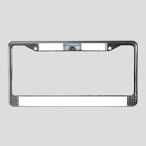 Lincoln Memorial License Plate Frame