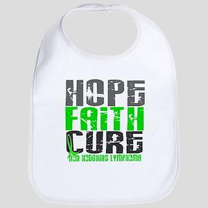 Hope Faith Cure NH Lymphoma Bib