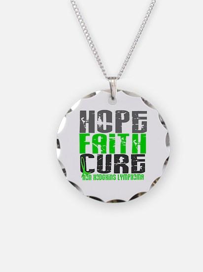 Hope Faith Cure NH Lymphoma Necklace