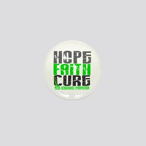 Hope Faith Cure NH Lymphoma Mini Button