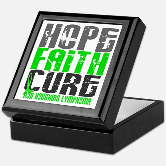 Hope Faith Cure NH Lymphoma Keepsake Box