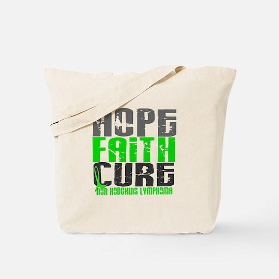 Hope Faith Cure NH Lymphoma Tote Bag
