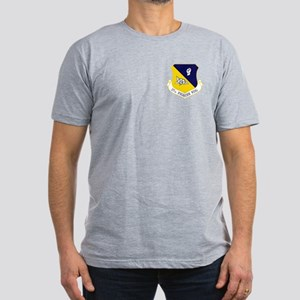 27th Fighter Wing Men's Fitted T-Shirt (Dark)