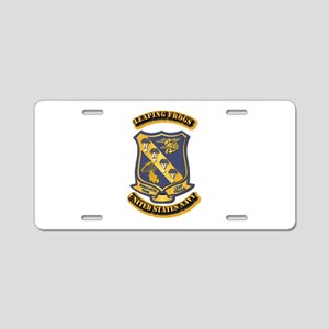 US - NAVY - Leaping Frogs Aluminum License Plate