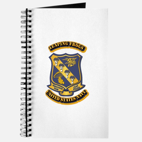 US - NAVY - Leaping Frogs Journal