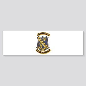 US - NAVY - Leaping Frogs Sticker (Bumper)