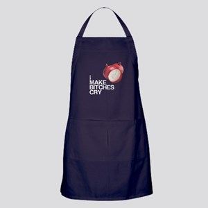 Onions, I Make Bitches Cry Apron (dark)