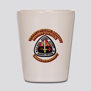 US - NAVY - USNSA - Danang Vietnam Shot Glass